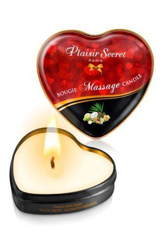 Массажная свеча с ароматом экзотических фруктов Bougie Massage Candle - 35 мл. - фото 1172388