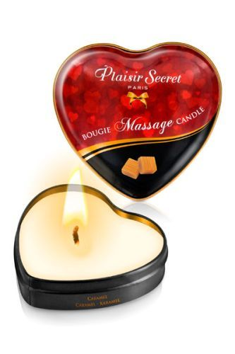 Массажная свеча с ароматом карамели Bougie Massage Candle - 35 мл.