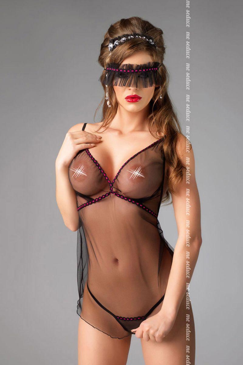 Ультра сексуальная сорочка Diva из нежного тюля