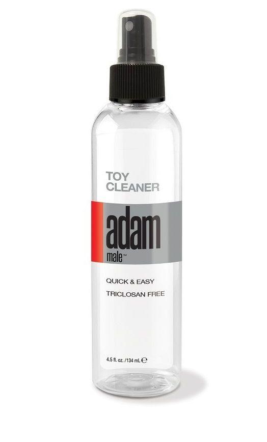 Очищающий спрей для игрушек Adam Male Adult Toy Cleaner - 134 мл.
