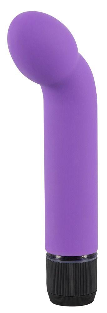 Фиолетовый вибростимулятор унисекс G+P Spot Lover - 16 см. - фото 151332