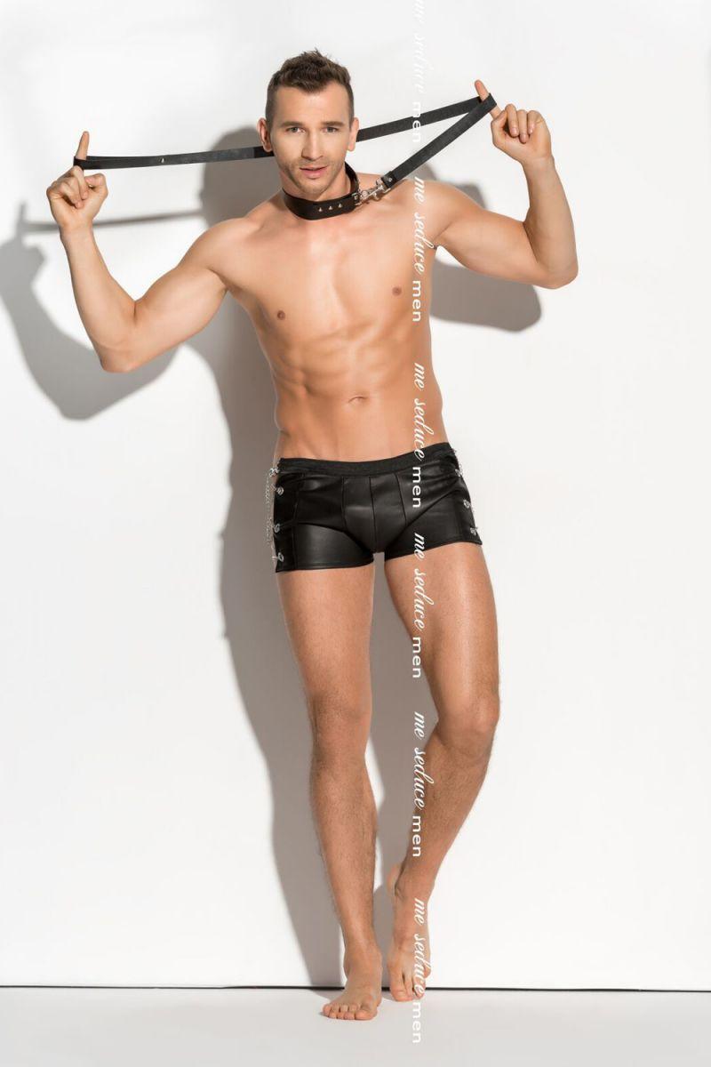 Мужские трусы-шорты с цепями по бокам Doro