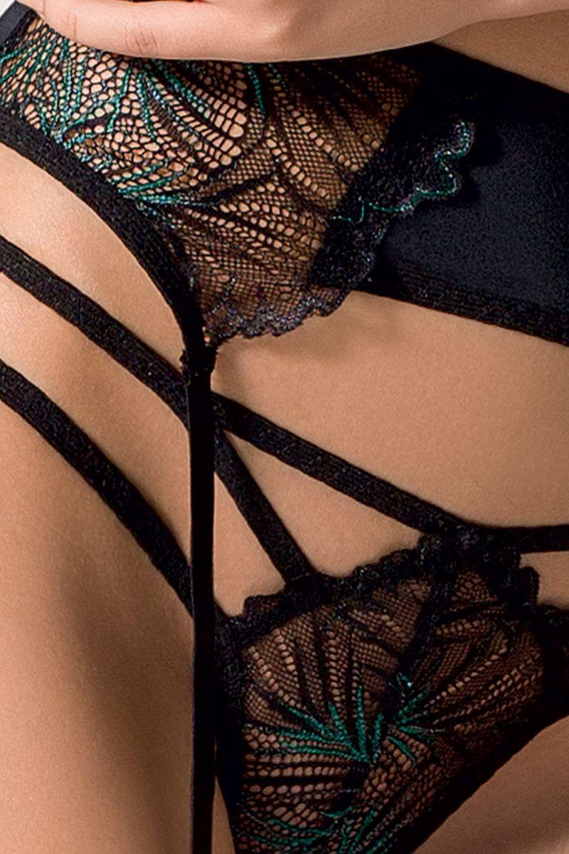 Роскошный комплект Floris с двухцветным кружевом - фото 167993