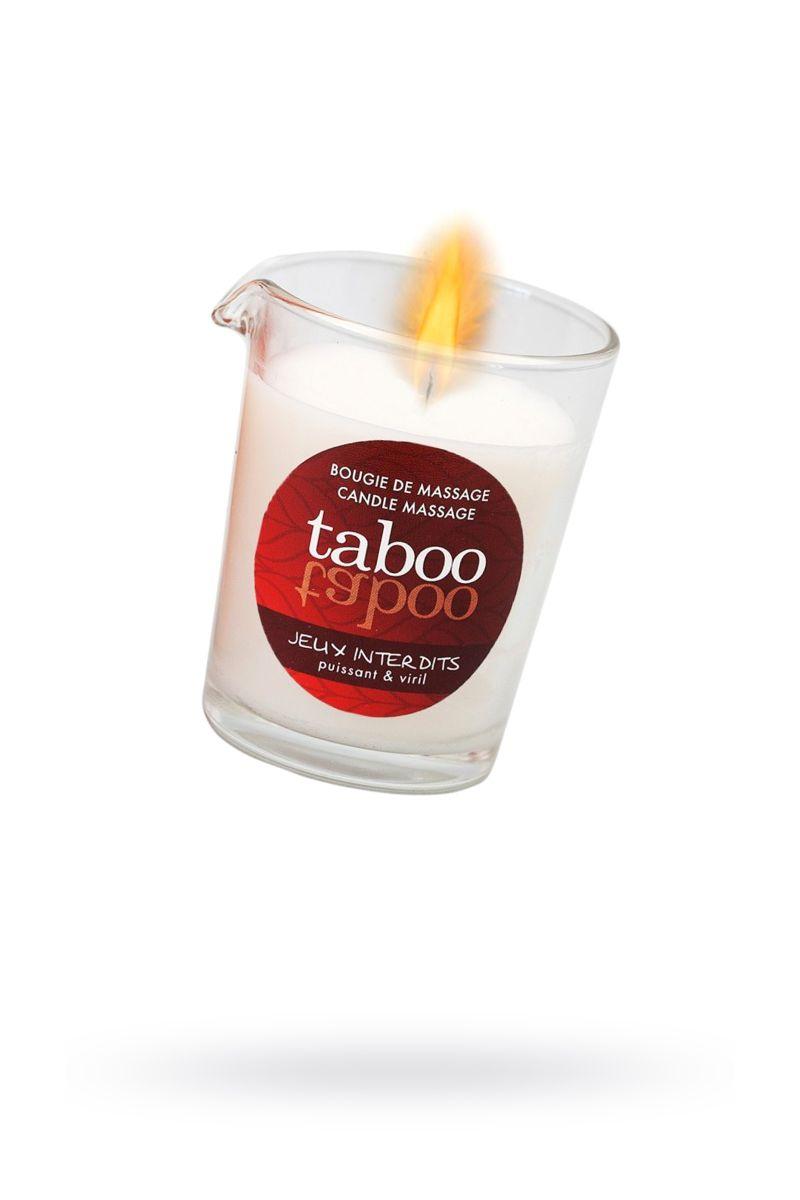 Массажное аромамасло с афродизиаками для мужчин RUF Taboo Jeux interdits - 60 гр.