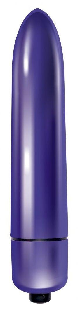 Фиолетовая вибропуля Mae - 9 см.