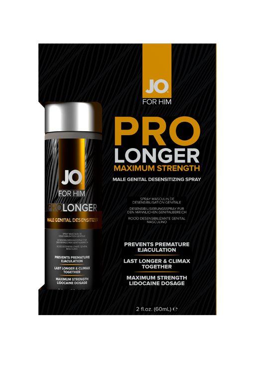 Спрей-пролонгатор для мужчин Prolonger Spray Desensitizer - 60 мл. - фото 245689