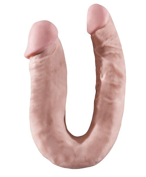 Двусторонний фаллоимитатор BIGSTUFF 16INCH DOUBLE DONG - 41 см.