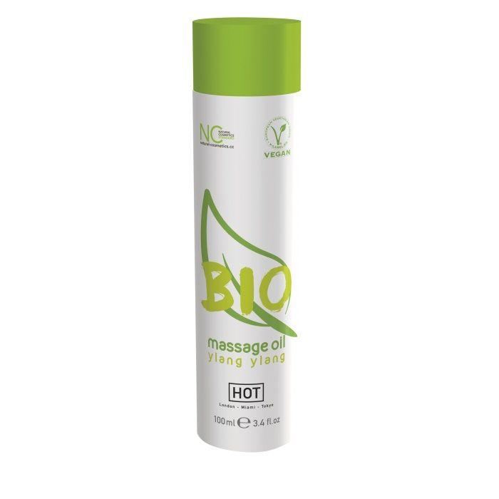 Массажное масло BIO Massage oil ylang ylang с ароматом иланг-иланга - 100 мл.