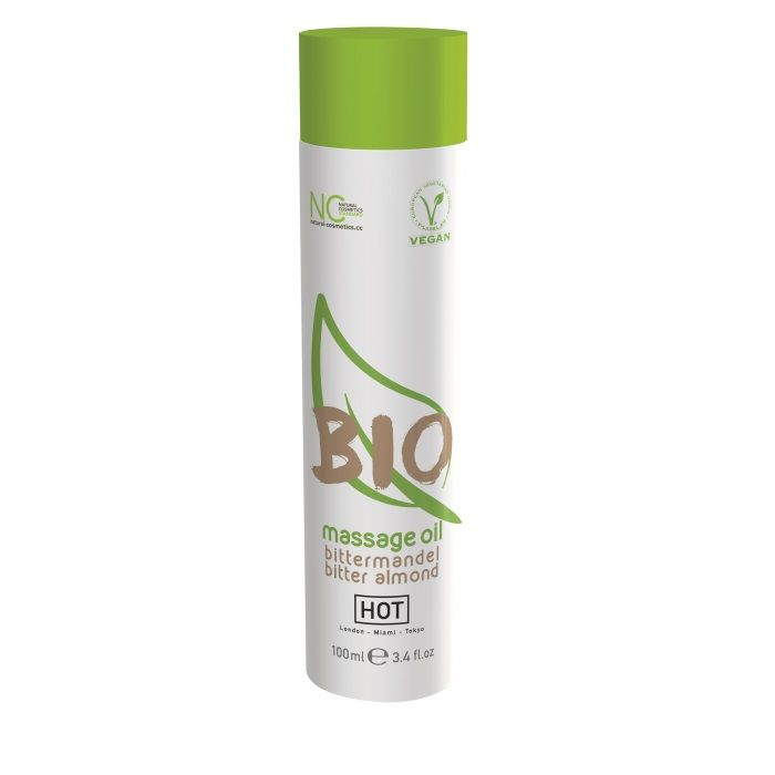 Массажное масло BIO Massage oil bitter almond с ароматом миндаля - 100 мл. - фото 1685076
