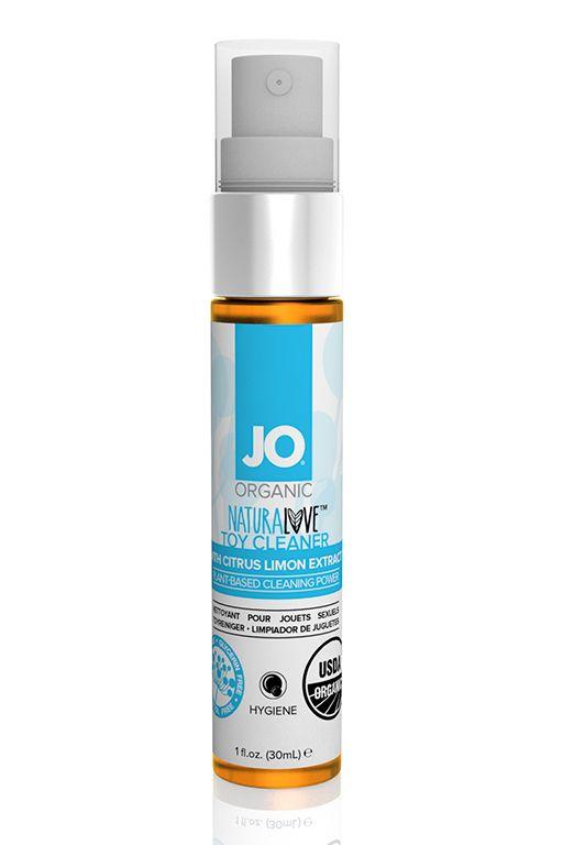 Чистящее средство для игрушек JO Naruralove Toy Cleaner - 30 мл. - фото 248509