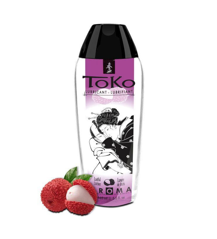 Интимный гель TOKO Lustful Litchee с ароматом личи - 165 мл. - фото 340394