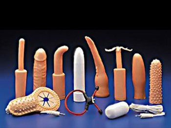 Универсальный набор для анально-вагинальной стимуляции