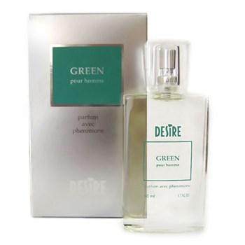 Духи с феромонами DESIRE Green (мужские) ,50 мл