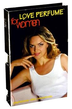 Пробник на женский концентрат феромонов (Love Parfum), 1.5 мл.