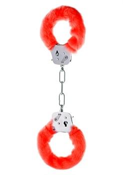 Красные игровые наручники