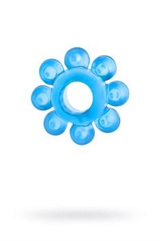 Голубая гелевая насадка-цветок