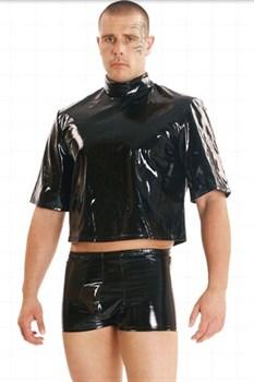 Мужские шорты из винила (Ledapol 1595)