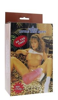 Вагина-девственница с вибрацией и выносным пультом A VIRGIN LITTLE MISS KITTY