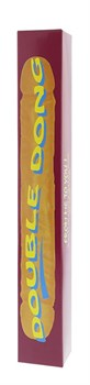 Двойной фиолетовый фаллоимитатор DOUBLE DONG LAVENDER - 30 см.