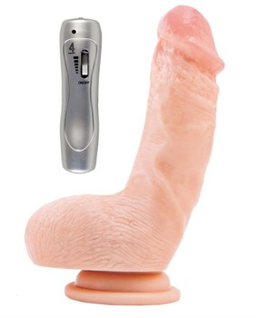 Мультискоростной реалистичный вибратор RealStick #109 - 15 см.