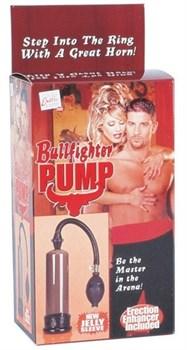 Помпа с грушей Bullfighter Pump with Enhancer