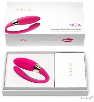 Вибромассажер Noa розового цвета