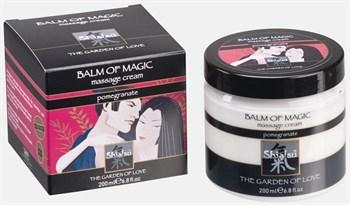 Массажный крем  Магическое удовольствие  с запахом граната - 200 мл.