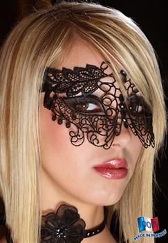 Кружевная маска на глаза со стразами Luxxa Lion Loup
