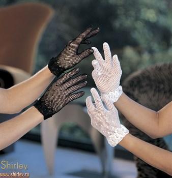 Короткие сетевые перчатки