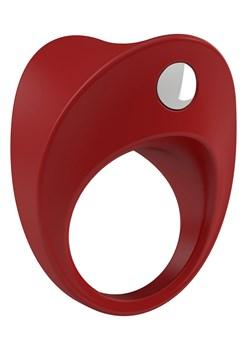 Красное эрекционное виброкольцо B11