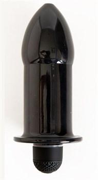 Чёрная водонепроницаемая вибровтулка - 14,5 см.