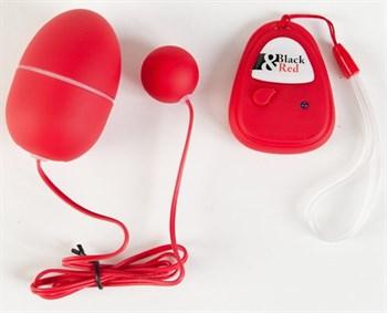 Красный пластиковый вибронабор с пультом ДУ