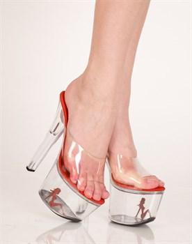 Туфли на высокой платформе  Леди