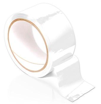 Белая самоклеящаяся лента для связывания Pleasure Tape - 10,6 м.