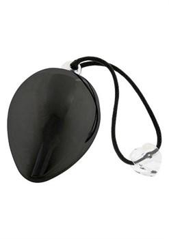 Черное иброяичко с кристаллом Swarovski EggXitting, 3.8 см