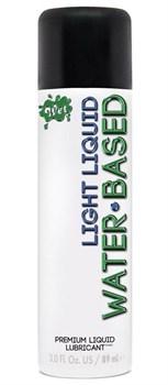 Лубрикант на водной основе Wet Light Liquid Lubricant - 89 мл.