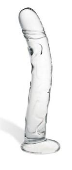 Рельефный фаллоимитатор для точки G - X-Curve Ribbed