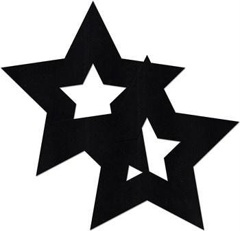 Украшение на соски  Nipple Stickers в форме звездочек