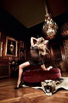 Страстное черное мини-платье Beauty Inside The Beast