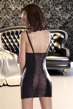 Сорочка Etna с прозрачной вставкой на спинке и шнуровкой