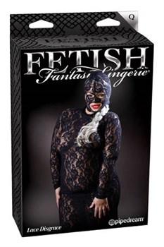 Эротическое платье Lace Disgrace с маской на голову