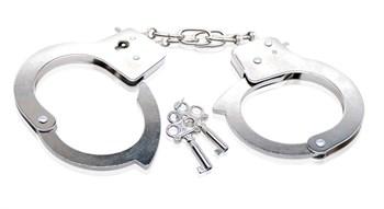"""Металлические наручники Beginner""""s Metal Cuffs"""