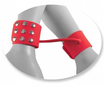 Силиконовые наручники SILICONE CUFFS RED
