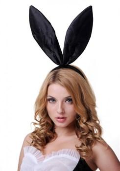 Чёрные ушки кролика