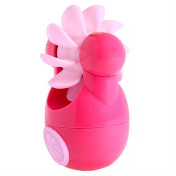 Розовый клиторальный стимулятор Sqweel Go Pink