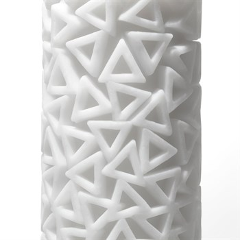 Белый 3D мастурбатор PILE