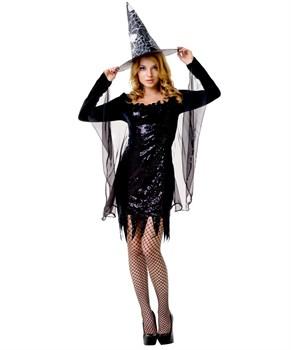 Костюм прелестной чёрной ведьмочки