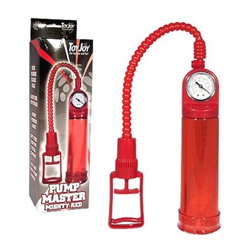 Вакуумная помпа для мужчин Pump Master Red