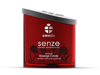 Массажная свеча Senze Massage Candle Teasing