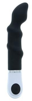 Черный анальный вибромассажер P-SPOT FINGER